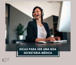 imagem com secretária dicas para ser uma boa secretaria