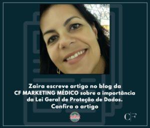 foto da Zaira autora do artigo LGP